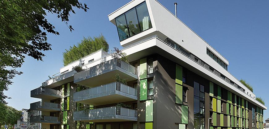 mehrfamilienhaus heilbronn bunse gmbh. Black Bedroom Furniture Sets. Home Design Ideas
